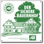 Plakette-Sicherer-Bauernhof